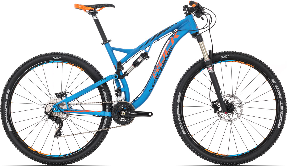 "ROCK MACHINE Blizzard 50 (orange/black) electricblue 17"" 2015"