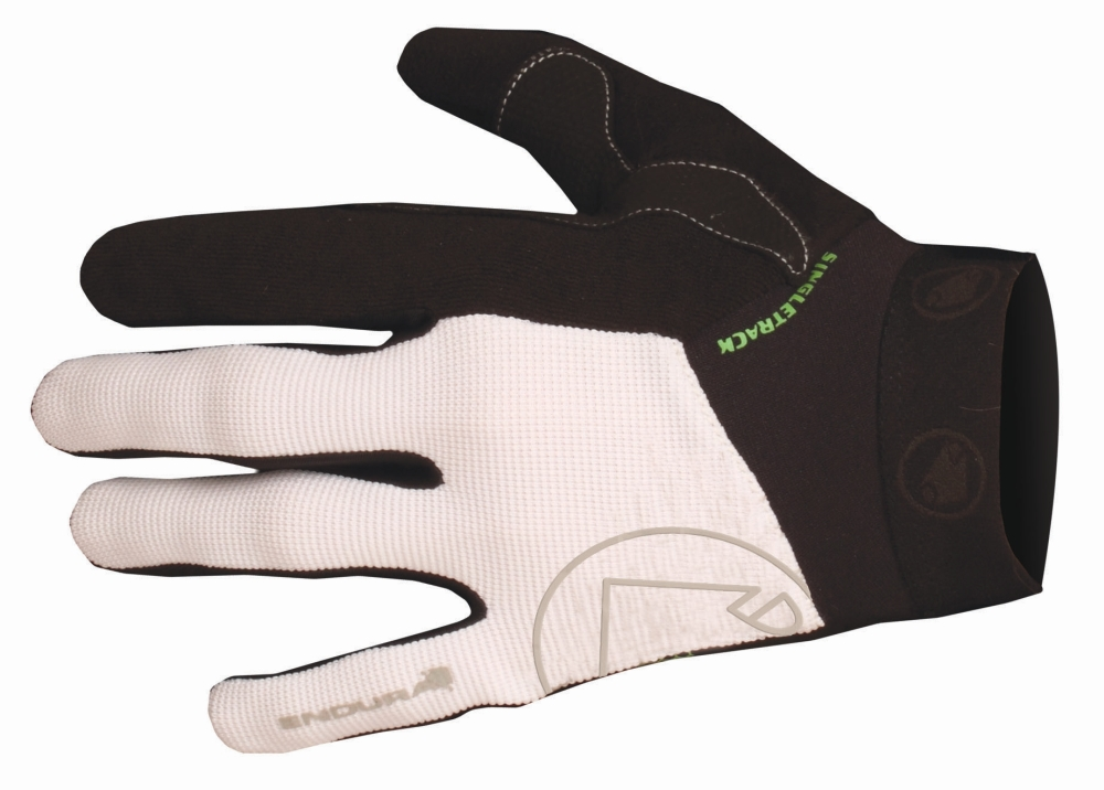 Endura rukavice Singletrack II white M