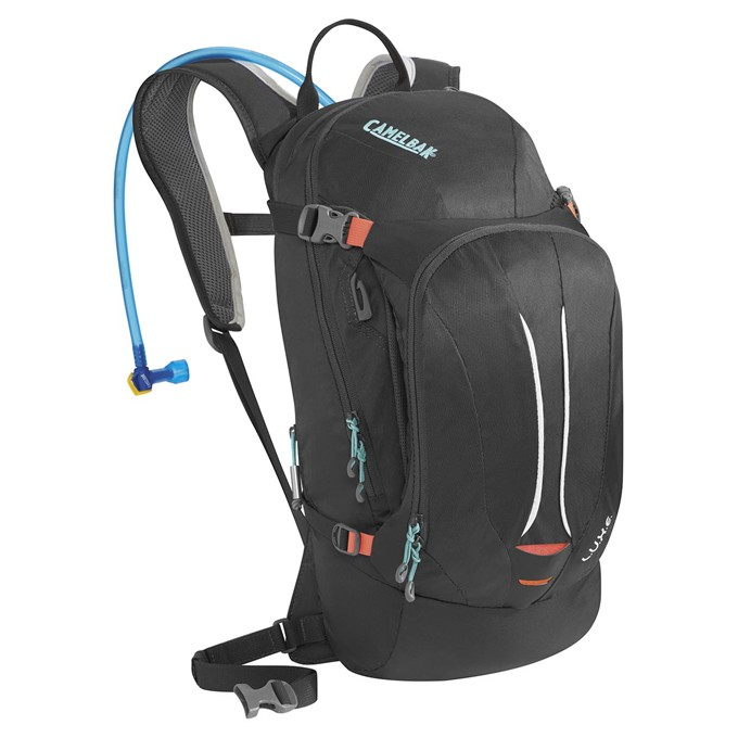 CAMELBAK Luxe charcoal/fiery coral 3l