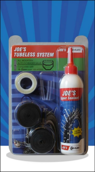 JOE´S tubeless system all mountain 240 ml auto (green 19-25mm)