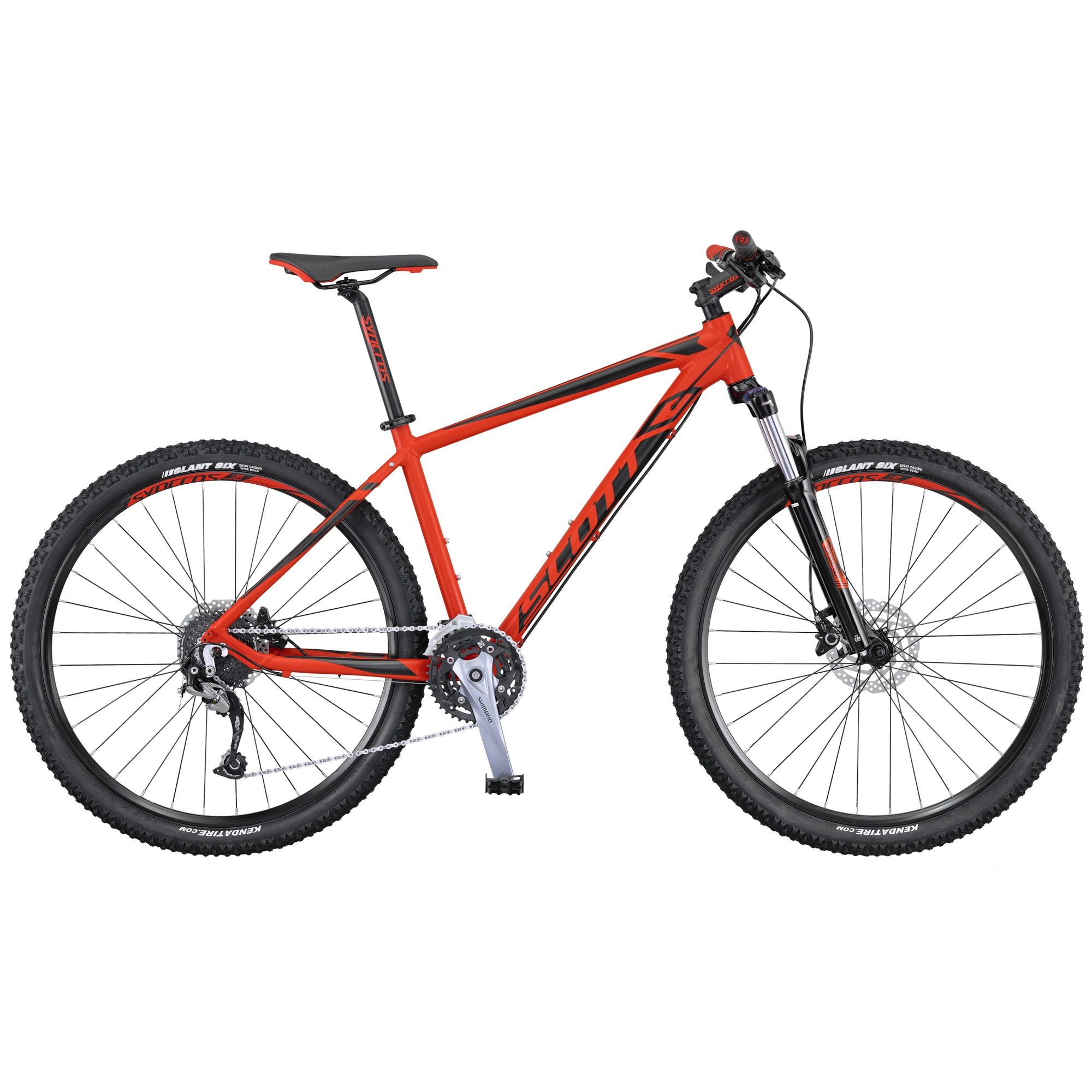 SCOTT Aspect 740 red/black XS 2016