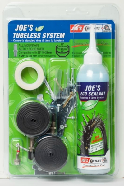 JOE´S eco kit system all mountain auto (green 19-25 mm) 240 ml