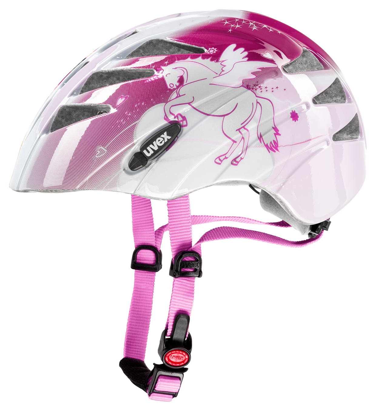 UVEX HELMA KID 1 UNICORN 2015