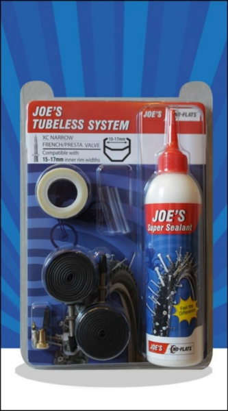 JOE´S tubeless system xc presta 240 ml (white 15-17mm)