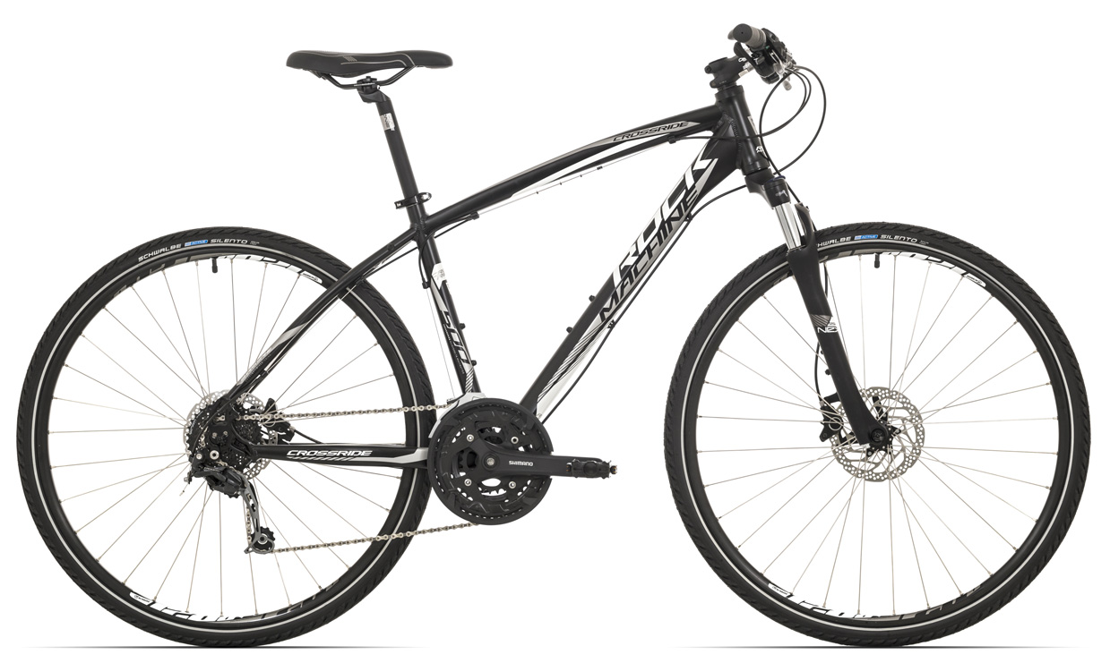 ROCK MACHINE Cross 500 black/white/silver 20 2017