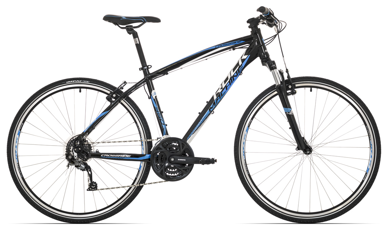 ROCK MACHINE Cross 350 black/white/blue 20 2017