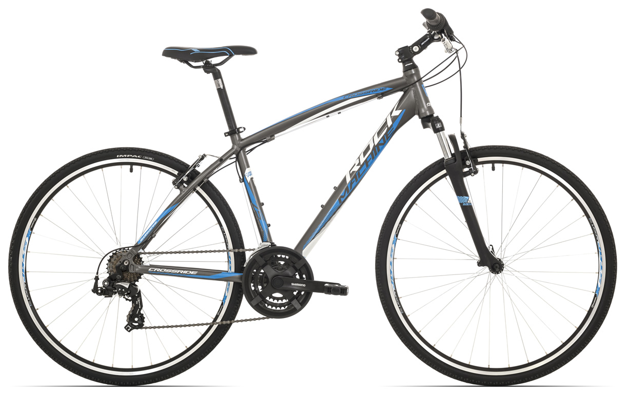 ROCK MACHINE Cross 75 anthracite/white/blue 22 2017