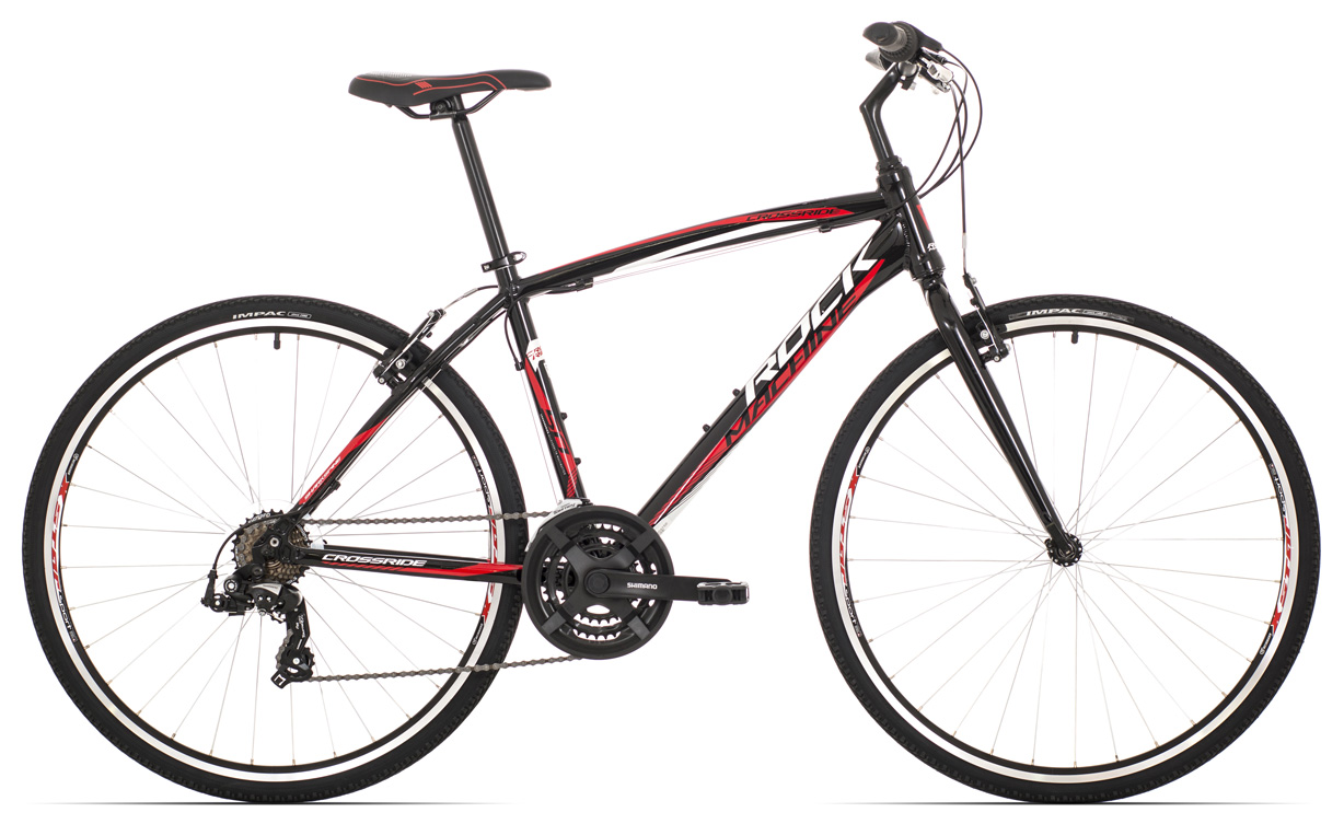 ROCK MACHINE Cross 50 black/white/red 20 2017