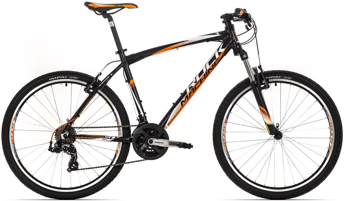 ROCK MACHINE Manhattan 50 black/orange/white