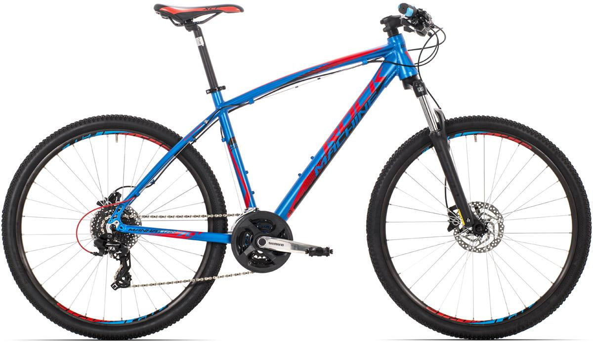 ROCK MACHINE Manhattan 70 blue/black/red