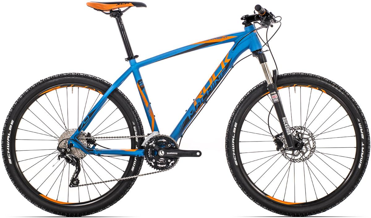 "ROCK MACHINE Torrent 70 16,5"" blue/orange/black"