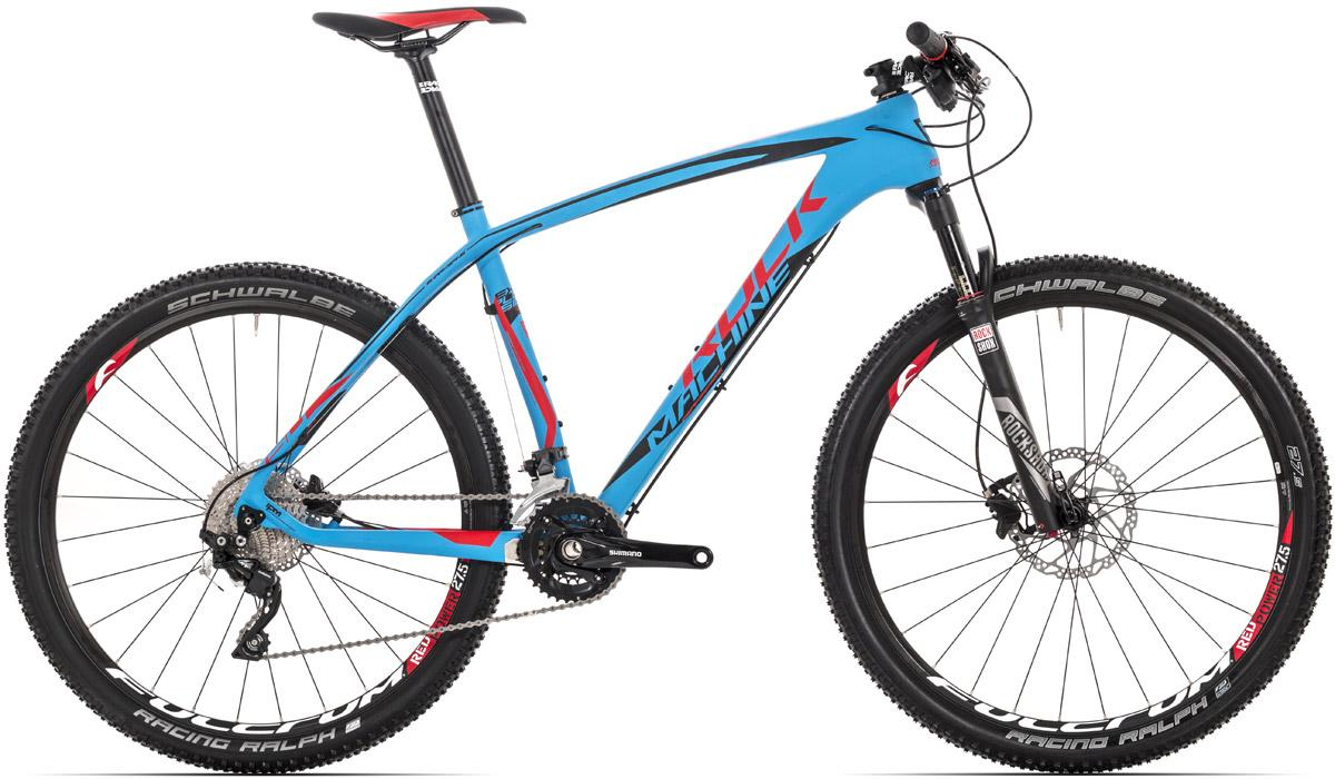 "ROCK MACHINE Explosion 50 16,5"" blue/black/red"
