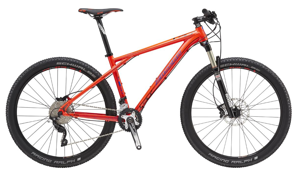 "GT ZASKAR 27,5"" ELITE, NEON RED/BLACK"