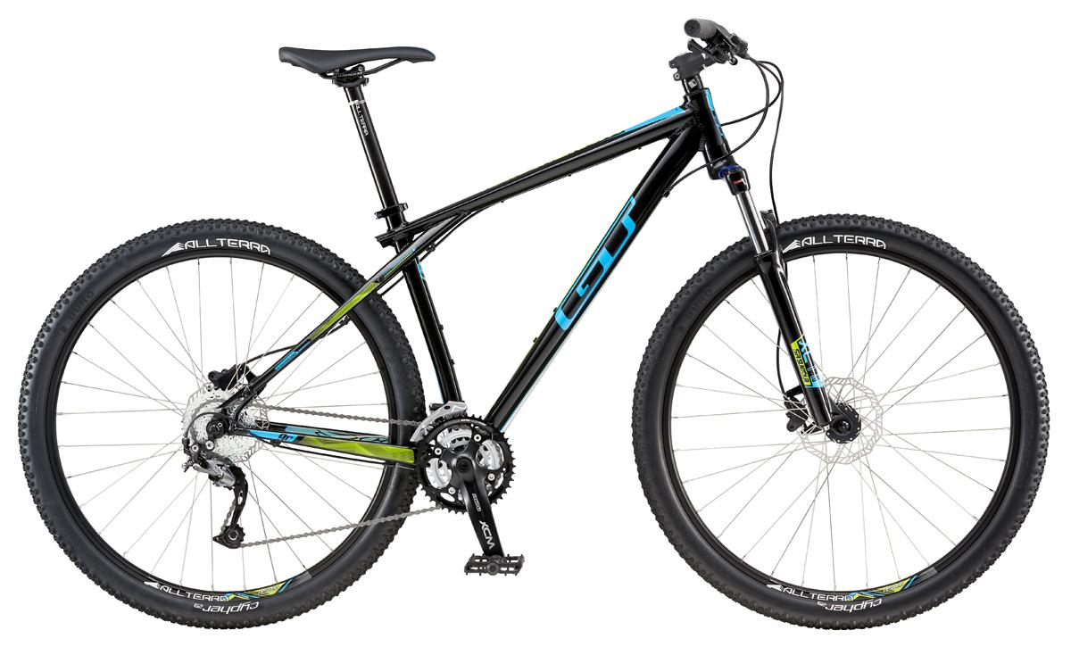 GT KARAKORAM 29 SPORT, BLACK/PROCESS BLUE