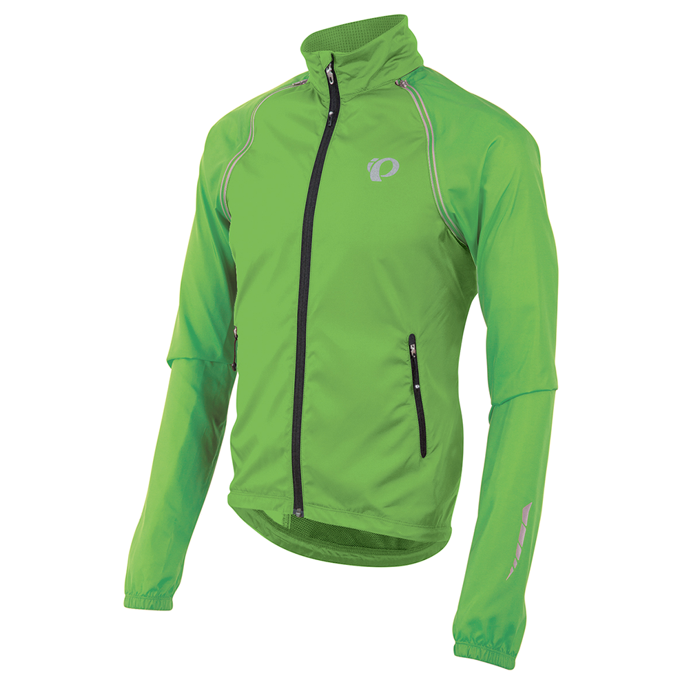 PEARL iZUMi ELITE BARRIER CONVERTIBLE bunda, SCREAMING zelená