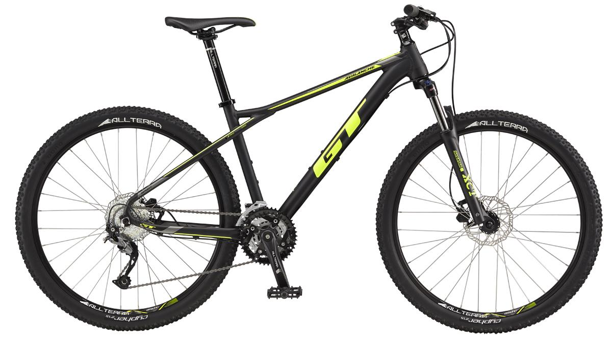 "GT AVALANCHE 27,5"" SPORT, BLACK/NEON YELLOW"