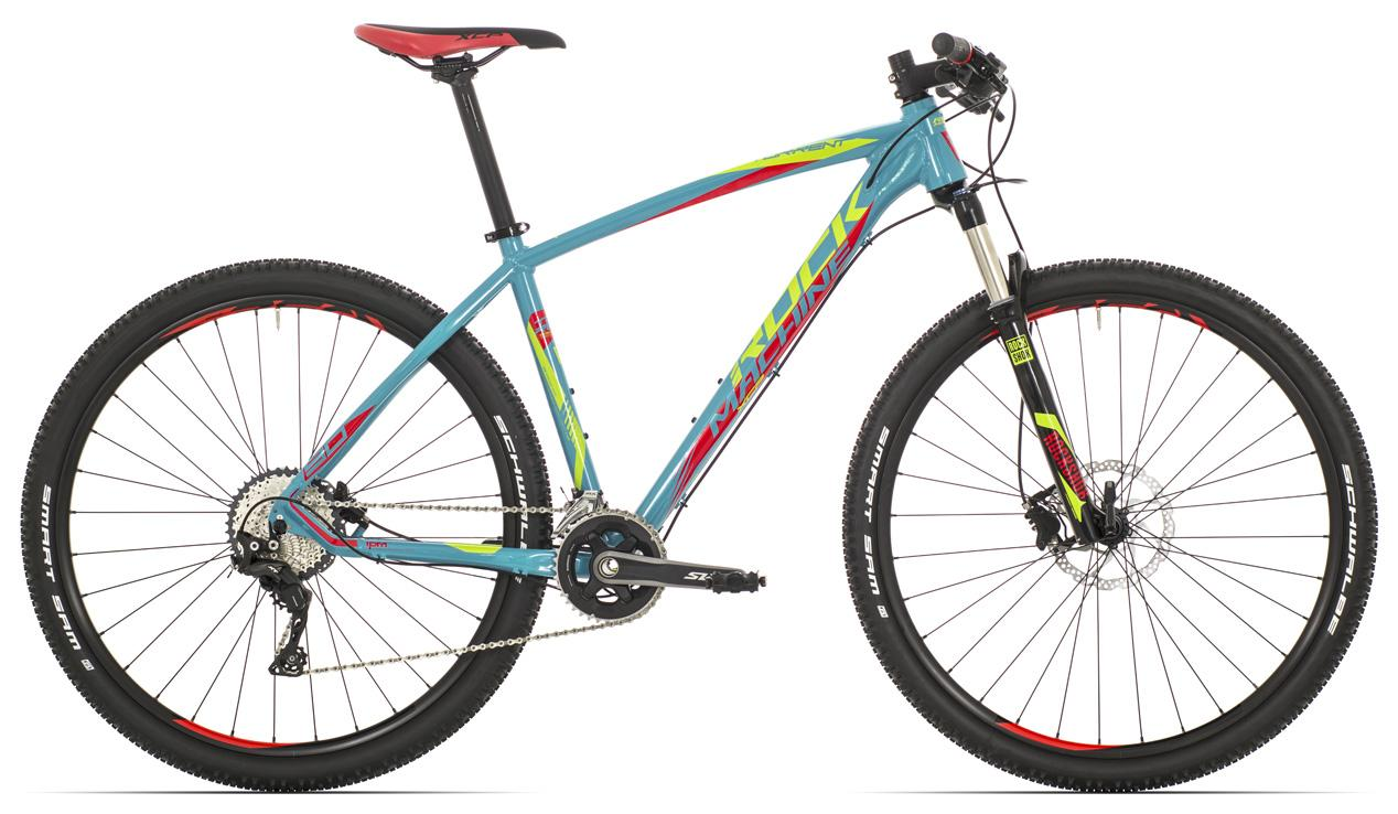 "ROCK MACHINE Torrent 90 29"" petrol blue/radioactive yellow/red"