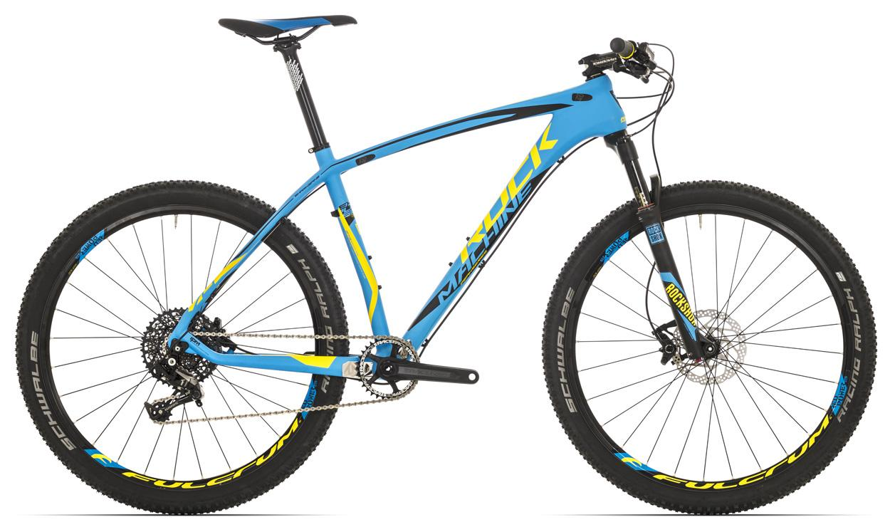 "ROCK MACHINE Explosion 70 27,5"" blue/yellow/black"