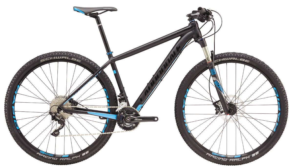 "Cannondale F-SI 2 27,5""/29"" - BLK"