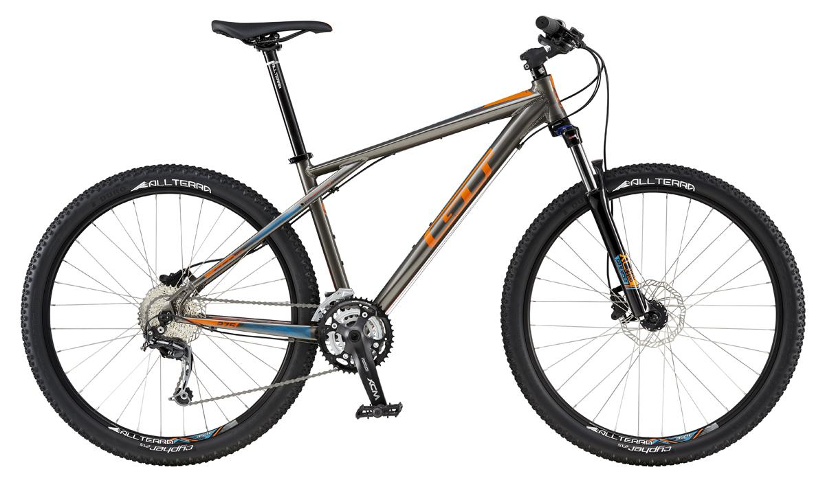 GT AVALANCHE 27,5 COMP, GRAY/ORANGE