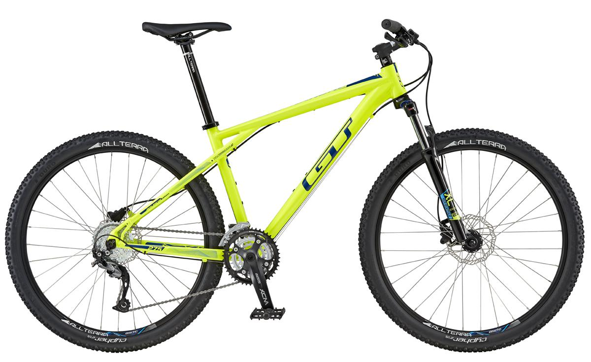 GT AVALANCHE 27,5 SPORT, NEON YELLOW/NAVY