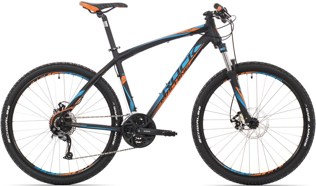 ROCK MACHINE El Nino 60 (blue/orange) matt black