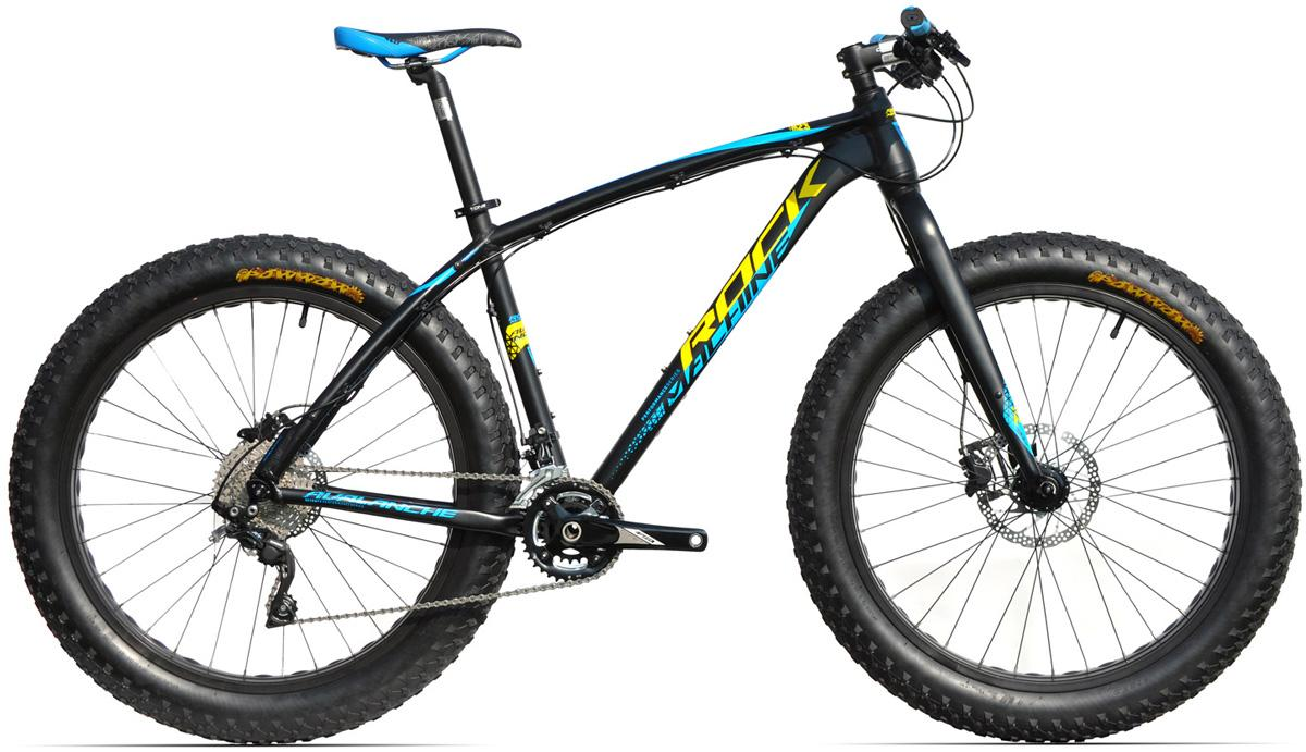 ROCK MACHINE Avalanche 70 (yellow/blue) matt black