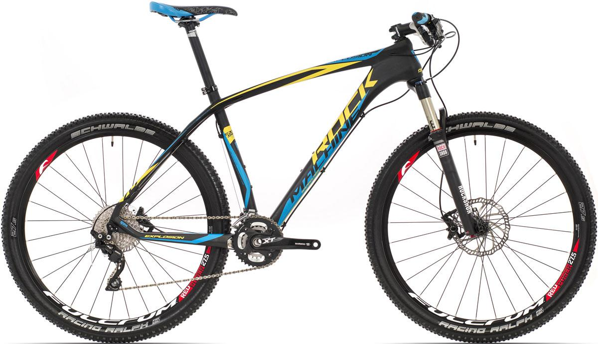 ROCK MACHINE Explosion 70 (yellow/blue) matt black